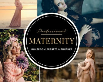 Maternity Lightroom Presets Professional Photo Editing Portraits, Newborns, Pregnancy, Weddings