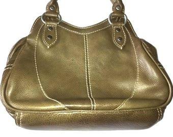 Stunning HIDESIGN Vintage Leather Bag - Mint