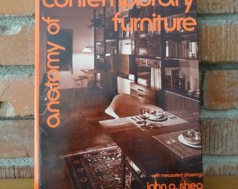 1973 Contemporary Furniture Book, Mid Century Furniture, Photos & Illustrations, Furniture Construction Projects, Mid Century Interior Decor