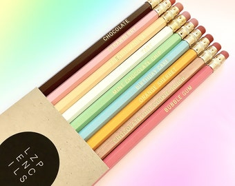 ICE CREAM pencil set