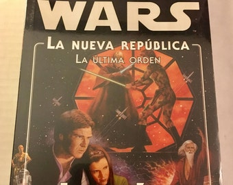 Star Wars: Heir to the Empire Vol. 3 The Last Command by Timothy Zahn (Spanish edition paperback)