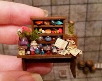 Bespoke Wizard/Alchemy table for DnD/Pathfinder or quarter scale dollshouses
