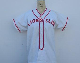 0793 - Lions Club - Vintage Jersey