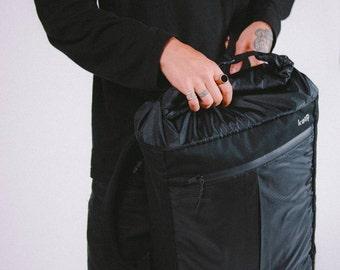 Backpack Tyvek And Kraft Paper Roll Top Backpack Travel