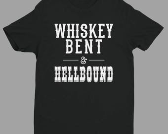 Whiskey Bent & HellboundTri-Blend Tee