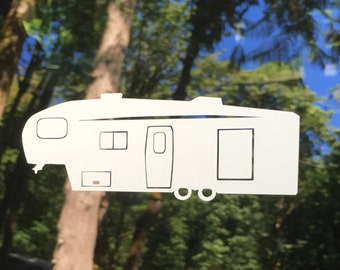 5th Wheel Camper decal