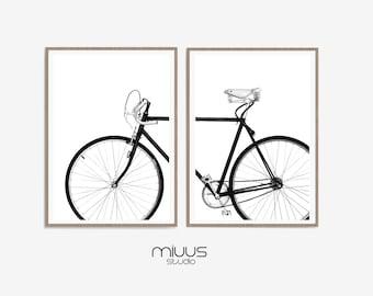 Bicycle Wall Art Etsy