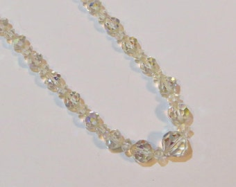 ViNTAGE AB CRYSTAL BEADED Necklace