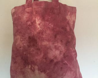 Naturally Dyed Tote Bag