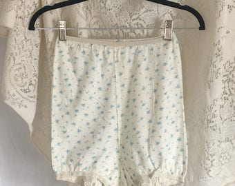 Vintage 1960's Blue Garter Panties -Never Worn