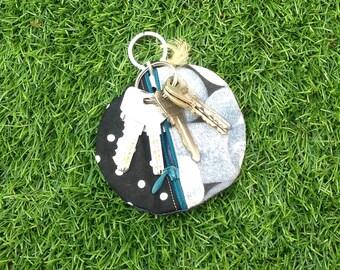 Keychain / purse round