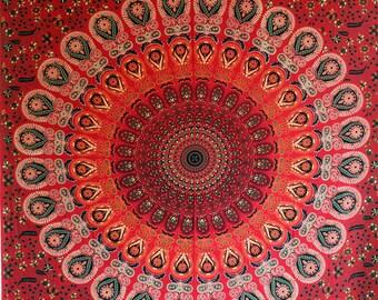 Boho Tapestry Boho Decor Bedroom Wall Art Bohemian Tapestry Mandala Wall Art Wall Tapestries floral tapestry Boho Wall Decor Hippie Decor