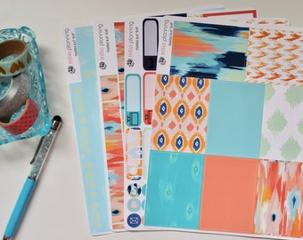 Painted Ikat - Big Happy Planner Weekly Kit