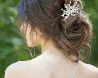 Bridal headpiece, Wedding hair piece, Wedding hair comb, Crystal hair comb, Crystal bridal accessories, Crystal bridal headpieces