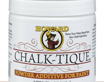 Howard Chalk-Tique - Powder additive for paint