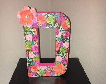 Decorative Letter- Small (Made to order)