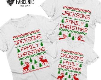 Christmas family shirts, Matching Christmas shirts, Christmas family outfit, Mommy daddy baby shirts, Christmas shirts for family