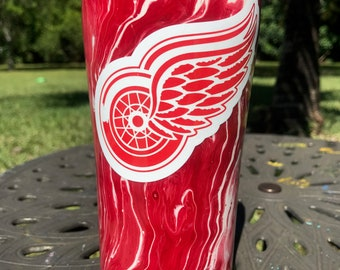 Detroit Red Wings Painted Ozark Trail Cup