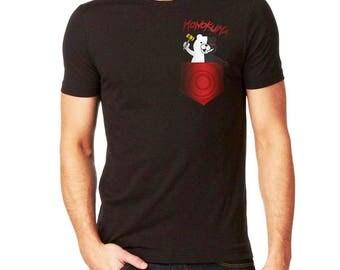 Monokuma - Danganronpa - Pocket Shirt - Unisex - Anime Geek Gift