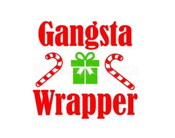 Gangsta Wrapper SVG FILE