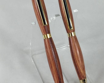 Tulipwood Handcrafted Wood Pen & Pencil Set #103 w/ Box