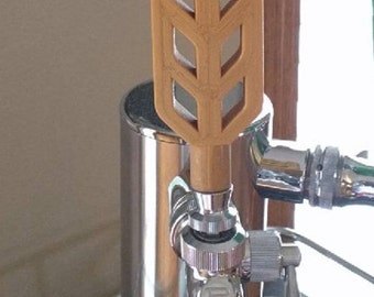 wheat beer tap handle