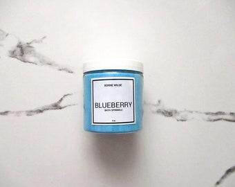 BLUEBERRY - bath sprinkles
