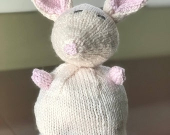 Stuffed Animal, Handmade Knitted Toy, Knitted Mouse, Knitted Cat, Knitted Kitty, Knitted Toy, Handmade Toy, Unique Toy, Unique Handmade Gift