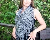 Triangle Scarf Crochet Pa...