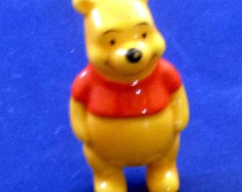 Vintage Miniature Winnie the Pooh Figurine, 1980s