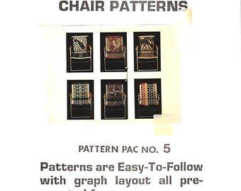 Six Unique Macrame Chair Patterns Pac 5