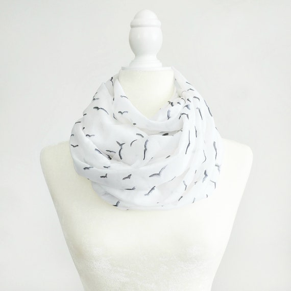 Infinity Scarf / Seagulls Exclusive Print