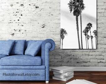 Venice beach art/Palm trees/California decor/Los Angeles wall art/Venice sign/Venice beach sign/Venice beach prints/beach house decor