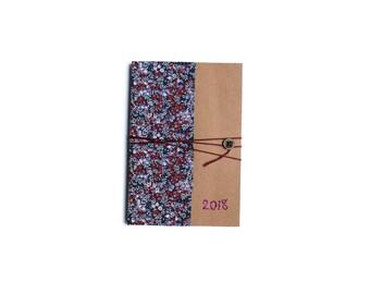 Agenda 2018 Liberty Wiltshire Berry - Une semaine sur deux pages - 10 x 15 cm