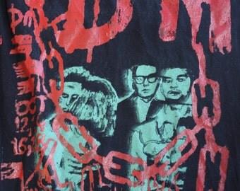 depeche MODE ; 2017 hollywood bowl concert  t shirt