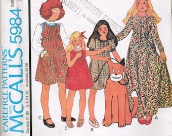 VIINTAGE New Annie's Cloths Line McCalls's 5984 Size 8