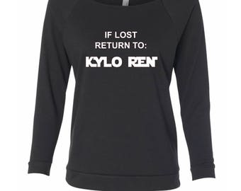 If Lost Return To Kylo Ren Shirt, Disney Shirts, Star Wars Shirt, Family Vacation, Disney World, Disneyland, Matching Disney Shirts