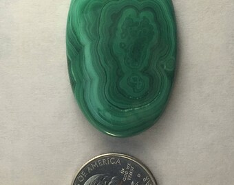 Large AAA Quality Malachite approx. 49 mm x 30mm