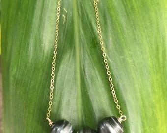 Triple Tahitian Pearl Necklace