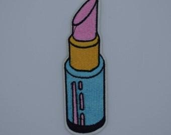 Lipstick Iron on Patch