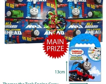 Pass the Parcel Ready Made Party Game - Thomas The Tank Engine