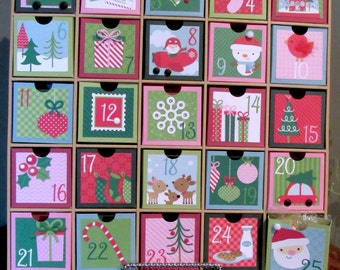 Kitschy Shadow Box Advent Calendar