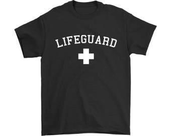 Lifeguard T Shirts, Lifeguard Shirt, Swimming Pool Shirt, Beach Shirt, Lifeguard Gift, Lifeguard Tee, Gift for Lifeguards, Unisex T Shirt