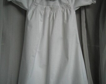 Traditional babys nightgown.