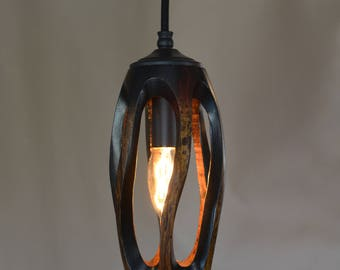Mango Wood Pendant Light