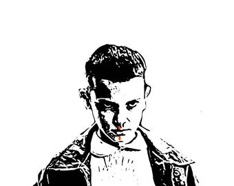 A5 Stranger Things-Eleven