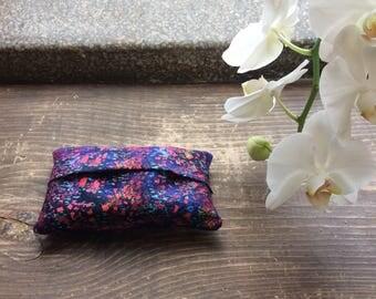 Watercolor Tissue Case / Tissue Cozy / Travel Tissue / Kleenex Case