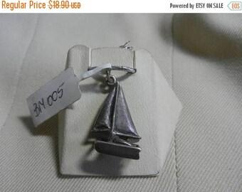 Summer Sale Vintage Sterling Silver Sale boat Charm Still on Card