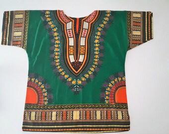 African print tunic dashiki shirt