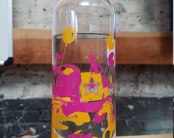 Water Bottle - Circus Animals